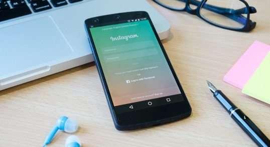 Instagram en celular