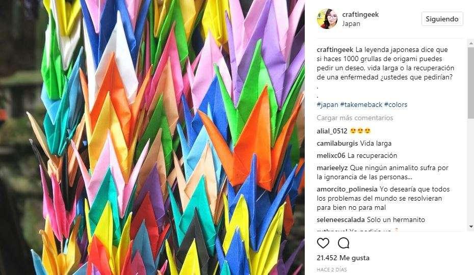 Craftingeek en Instagram