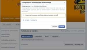 Grupos de Facebook Administrar o Moderar Grupos